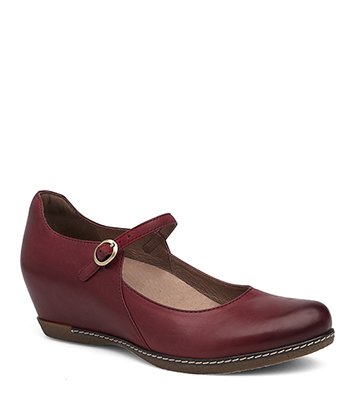 Loralie Red Burnished Nubuck from the Laurel
