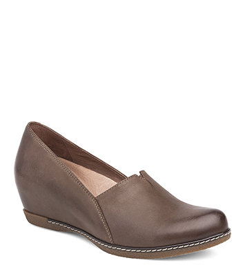 Liliana Teak Burnished Nubuck from the Laurel