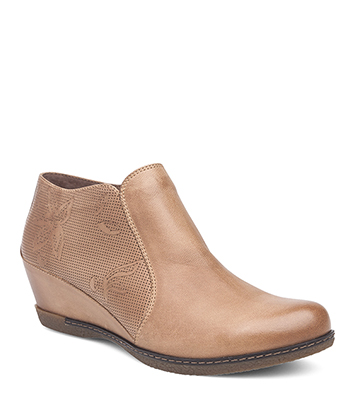 Luann Taupe Burnished Nubuck from the Laurel