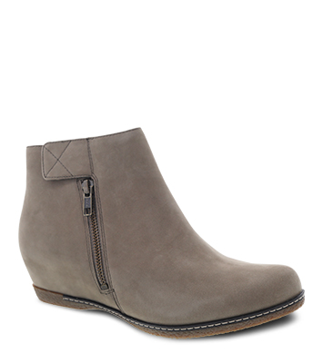 Leanna Taupe Burnished Nubuck from the Laurel