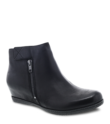 Leanna Black Burnished Nubuck from the Laurel