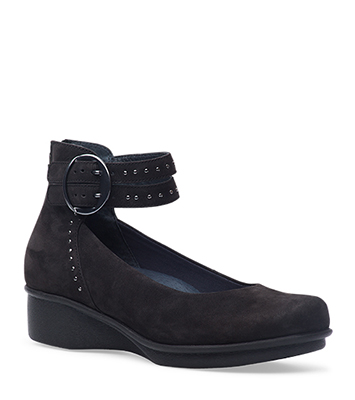 Lois Black Nubuck from the Lyon