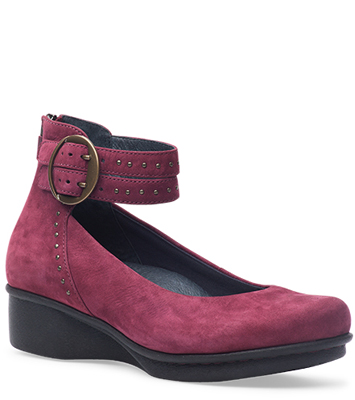 Lois Wine Nubuck from the Lyon