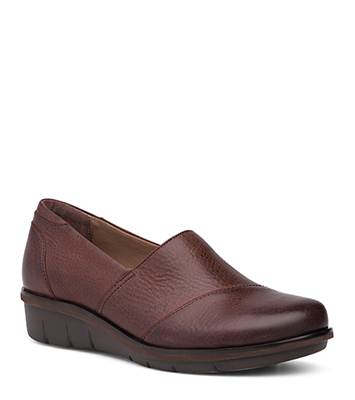 Julia Brown Burnished Nubuck from the Juno