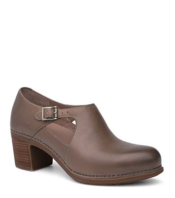 Hollie Taupe Burnished Calf from the Hamilton