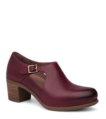Hollie Wine Burnished Calf from the Hamilton