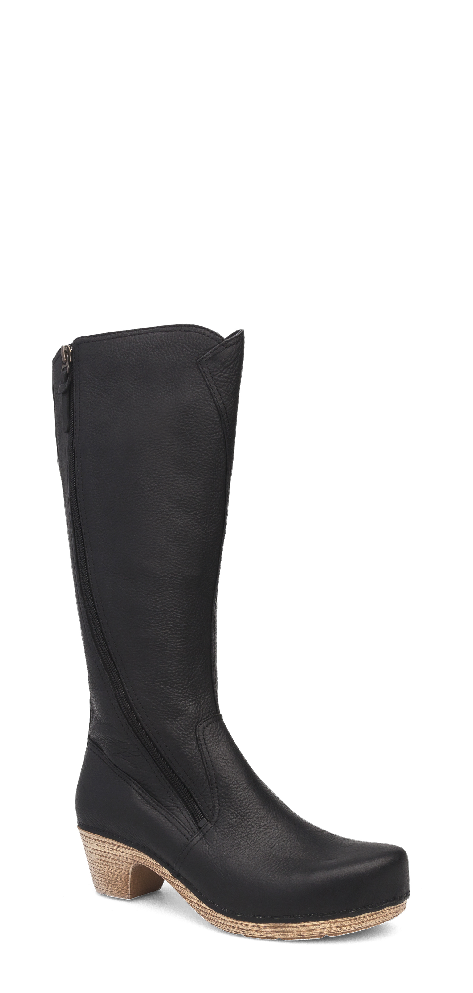 5432f7da0ad5 The Dansko Black Tumbled Pull Up from the Martha collection.