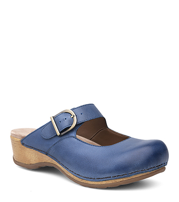 Martina Blue Burnished Nappa from the Marion