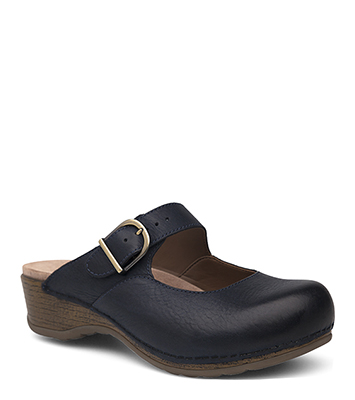 Martina Navy Burnished Nubuck from the Marion