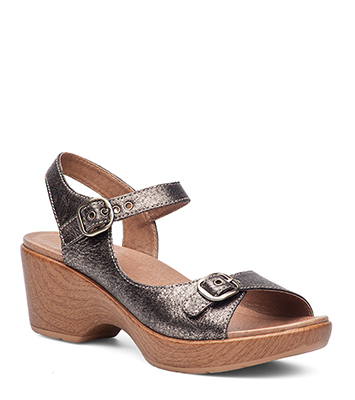 Joanie Pewter Burnished Metallic from the Dillon