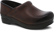 Dansko Outlet - Professional Brown Burnished Nubuck