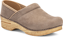 Professional Taupe Milled Nubuck