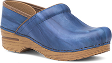 Dansko Outlet - Professional Blue Scrunch