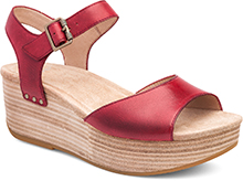 Dansko Outlet - Silvie Red Burnished