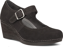 Dansko Outlet - Sandra Black Nubuck