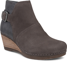 Dansko Outlet - Shirley Grey Nubuck