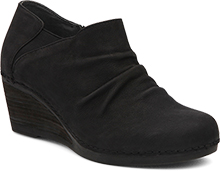 Sheena Black Nubuck