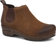 Dansko DotCom - Frankie Brown Burnished Suede