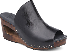 Dansko Outlet - Sage Black Tumbled Calf