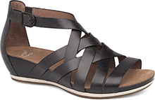 Dansko Outlet - Vivian Graphite Vintage Pull Up
