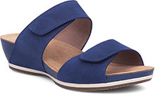 Dansko Outlet - Vienna Blue Milled Nubuck