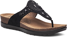 Dansko Outlet - Pamela Black Jewelled