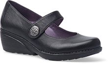 Dansko Outlet - Adelle Black Nappa