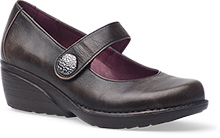 Dansko Outlet - Adelle Brown Brushoff Nappa