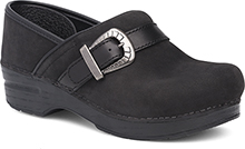 Dansko Outlet - Pammy Black Milled Nubuck