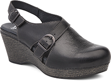 Dansko Outlet - Vinnie Black Distressed
