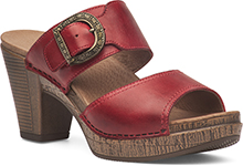 Dansko Outlet - Ramona Red Full Grain