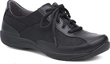 Dansko Outlet - Emma Black Nylon/Leather