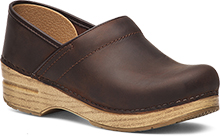 Dansko Outlet - Professional Antique Brown Oiled - Blonde