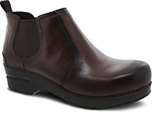 Dansko Outlet - Frankie Brown Burnished Full Grain