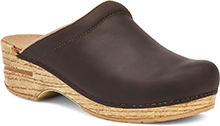 Dansko Outlet - Sonja Antique Brown Oiled/Natural