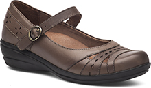 Dansko Outlet - Mathilda Dark Taupe Veg