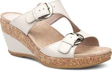 Dansko Outlet - Carla Ivory Full Grain