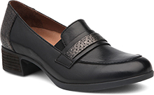 Dansko Outlet - Lila Black Antiqued Calf