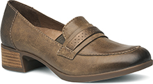 Dansko Outlet - Lila Taupe Burnished Nappa
