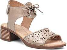 Dansko Outlet - Liz Taupe Antiqued Calf