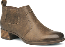 Dansko Outlet - Lola Taupe Burnished Nappa