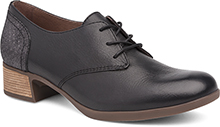 Dansko Outlet - Louise Black Burnished Nappa