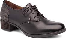 Dansko Outlet - Louise Black Antiqued Calf