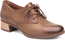 Dansko Outlet - Louise Taupe Burnished Nappa