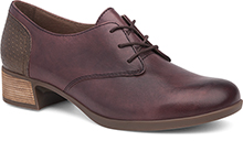 Dansko Outlet - Louise Wine Burnished Nappa