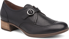 Dansko Outlet - Livie Black Burnished Nappa