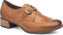 Dansko Outlet - Livie Saddle Burnished Nappa