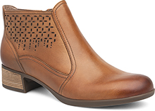 Liberty Saddle Burnished Nappa