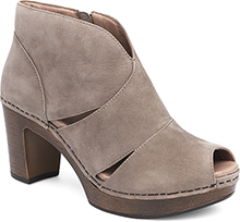 Delphina Taupe Milled Nubuck