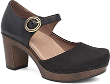 Dansko Outlet - Dorothy Black Milled Nubuck